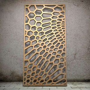 Lattice Panel: Geometric 08