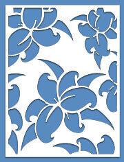 Lattice Panel: Lilac