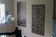 Lattice Panels Accent Walls