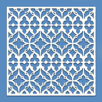 Lattice Panel: Stain Glass